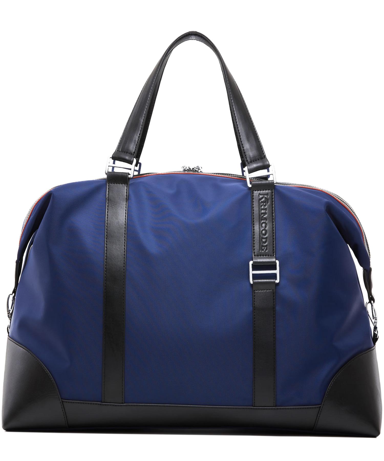 krimcode business duffel bag blue back