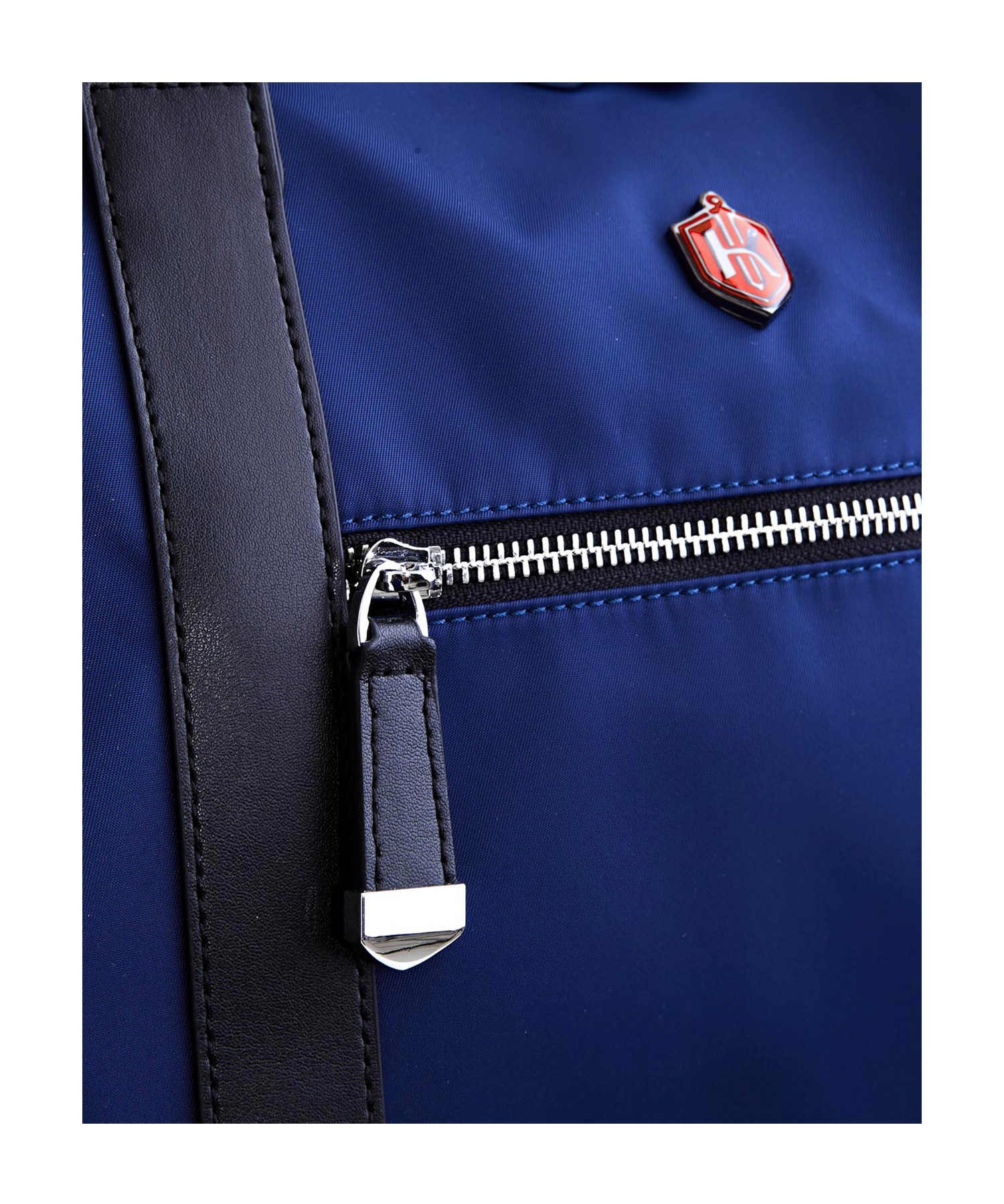 krimcode business duffel bag blue zipper