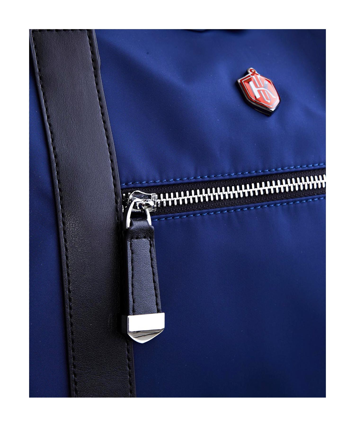 krimcode business duffel bag blue zipper