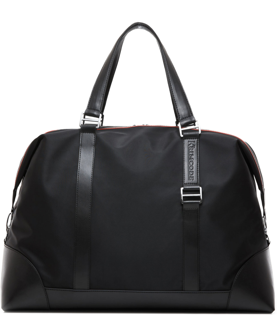 Krimcode Business Attire Duffle Bag – KBAL19-1N0SM – Back