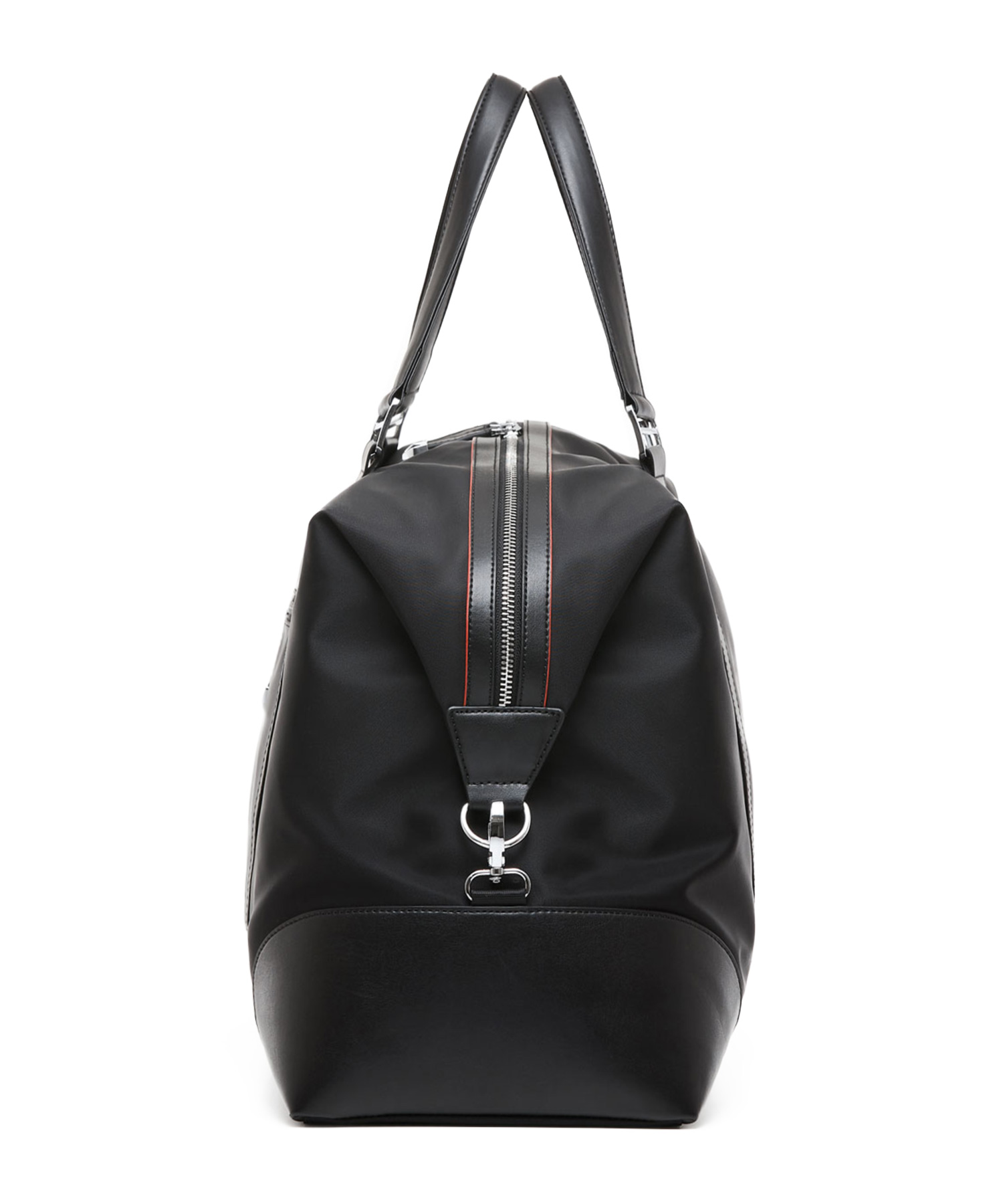 business duffel bag side