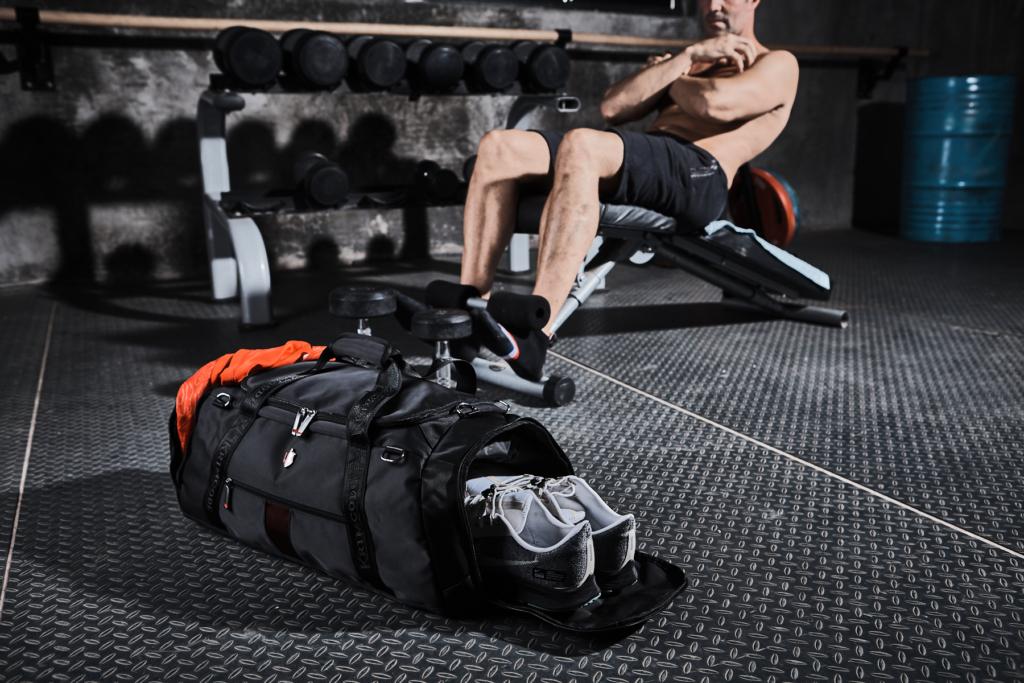 Sports Attire Duffel Bag