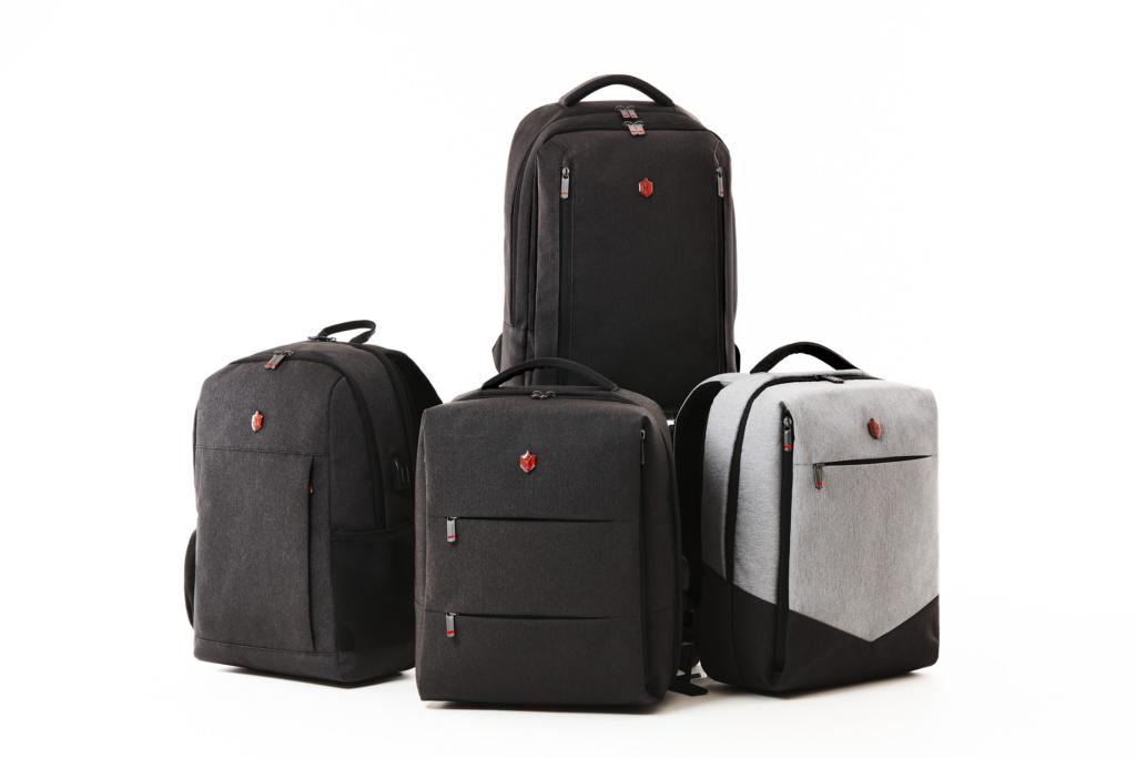 business formal backpack line