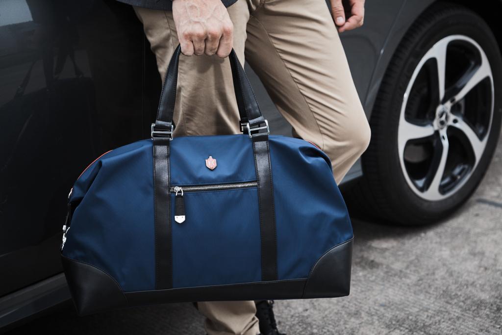 Business travel bag - Duffel Bag in Blue