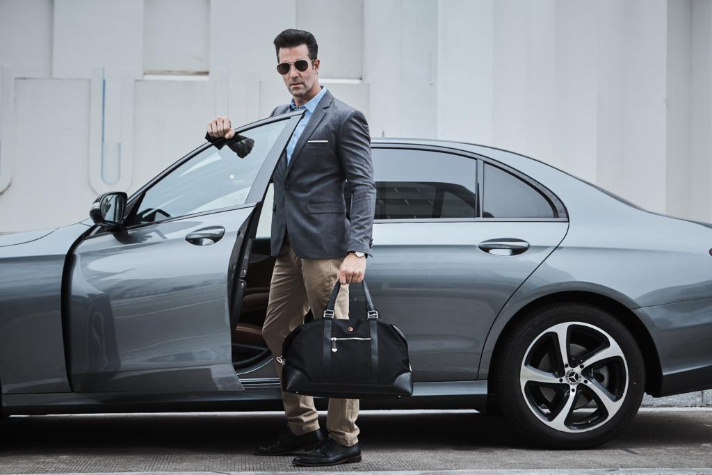 Business Travel Bag - Duffel Bag in Black