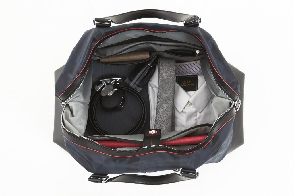 Business Travel Bag - Duffel Bag in Blue Grey Camo